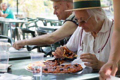 Repas Pizza à l'Etang de la Bonde